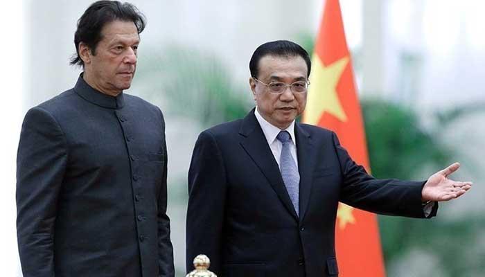 PM Imran Khan holds telephonic conversation withChinese Premier Li Keqiang. File photo