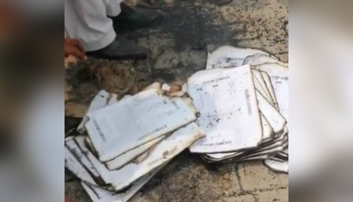 BISE Lahore says intermediate answer sheets burned
