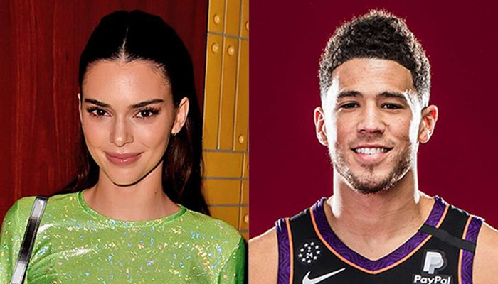 Kendall Jenner roots for boyfriend Devin Booker prior to NBA finals