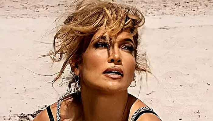 Jennifer Lopez showcases her young and lithe figure as she gives fans fitness envy