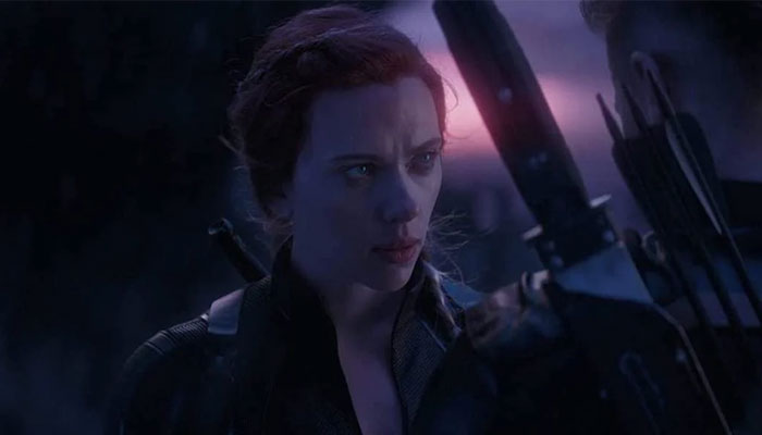 Scarlett Johansson revealed that her initial reaction to finding out about Black Widow's death was amusing