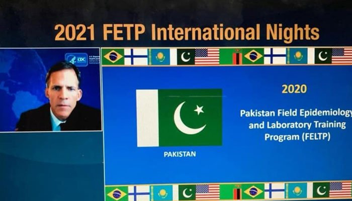 Pakistan wins int'l award for excellence in public health response