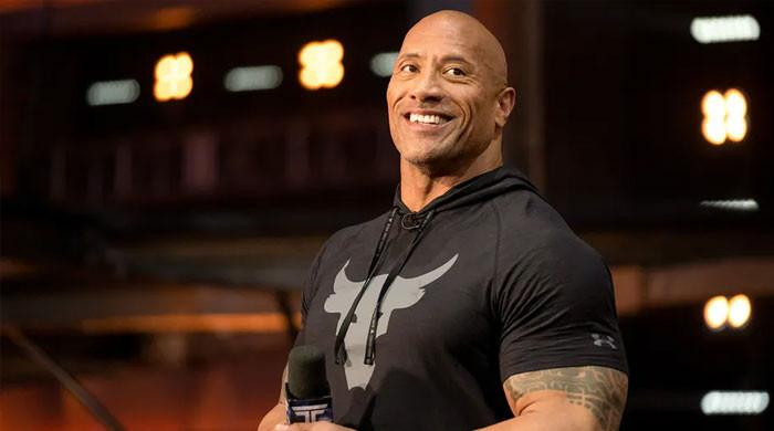 Dwayne Johnson fawns over his 'Jungle Cruise' themed museum display
