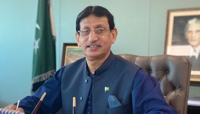 Federal Minister for Information Technology and Telecommunications Syed Aminul Haq. File photo