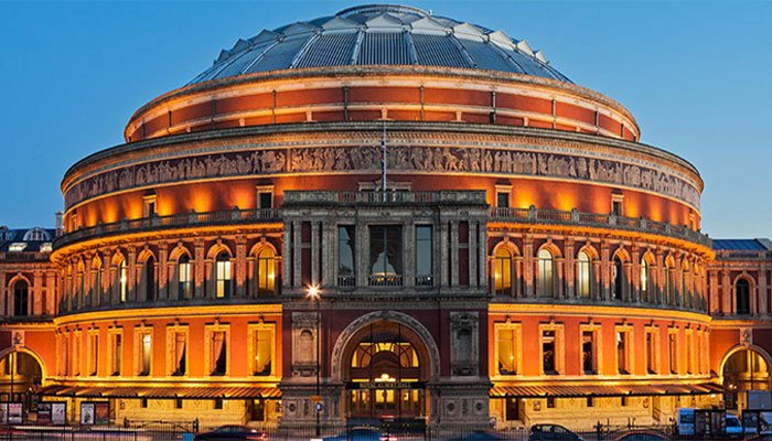Royal Albert Hall opens at full capacity first time since March 2020