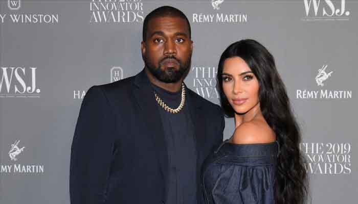 Kim Kardashian attends Kanye Wests DONDA listening party