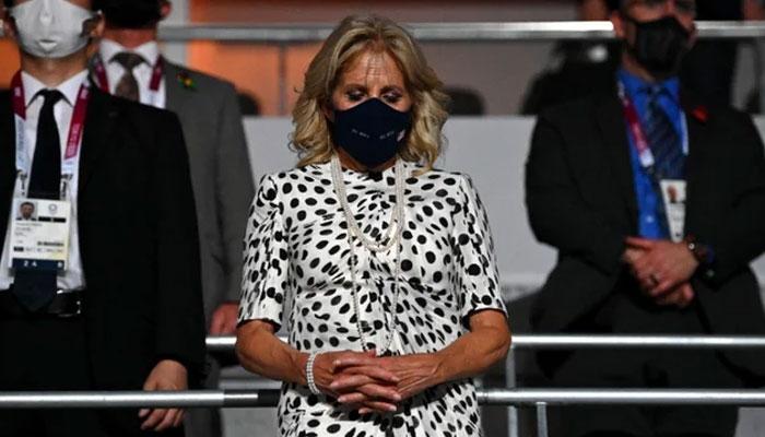 Jill Biden joins US delegation for Tokyo opening ceremony
