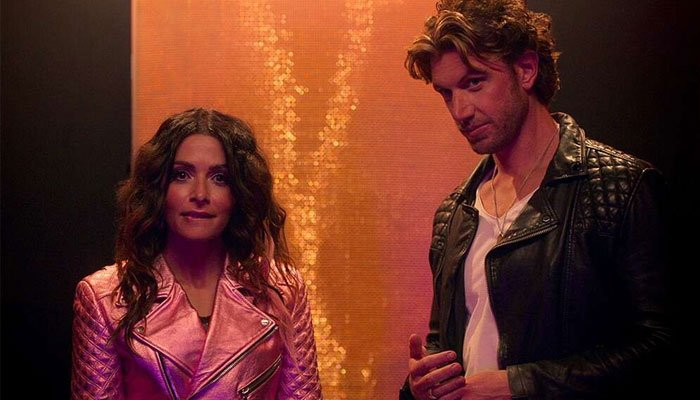 Sarah Shahi calls boyfriend, co-star Adam Demos her soul