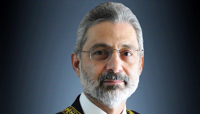 Supreme Court (SC) judge Justice Qazi Faez Isa. — File photo