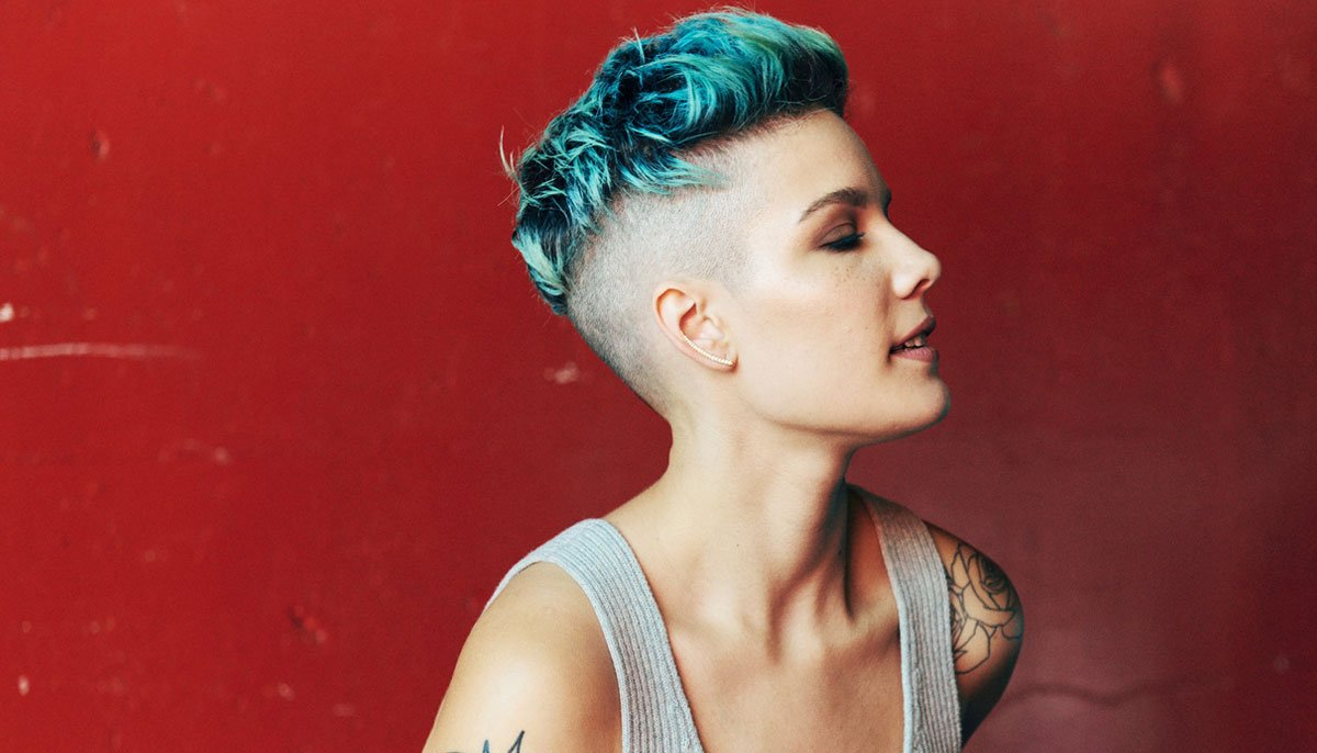 Picture: Halsey shares adorable new snap of week-old son Ender