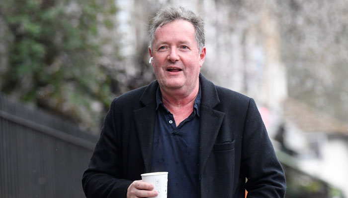 Piers Morgan revealed that he had been suffering aches, cold sweats and a fever since the past 10 days
