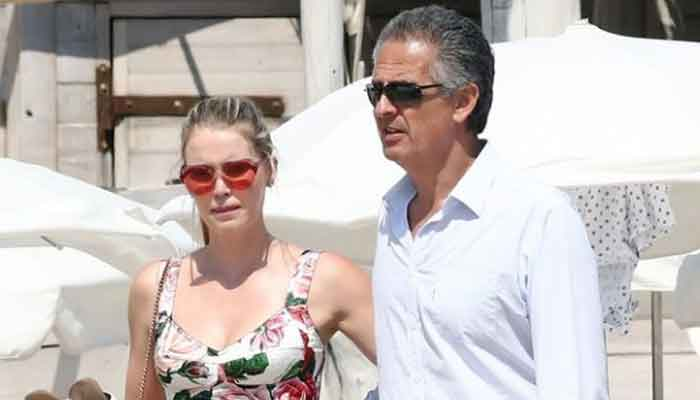 Lady Kitty Spencer with husbandMichael Lewis
