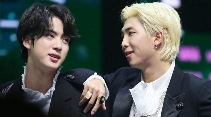 BTS' RM, Jin addresses record breaking Billboard streak with 'Permission to Dance'