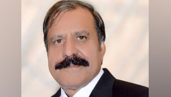 PML-N's candidate for the AJK elections from LA-35 Jammu-2, Choudhary Muhammad Ismail Gujjar.