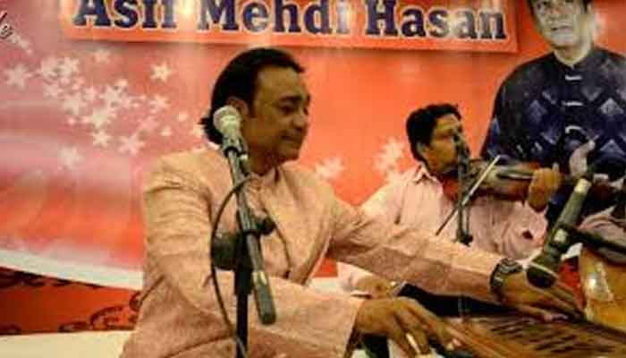 Singer Asif Mehdi Hassan admitted to hospital
