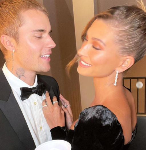 Hailey Bieber sizzles in velvet gown as she graces art gallery with Justin in Los Angeles