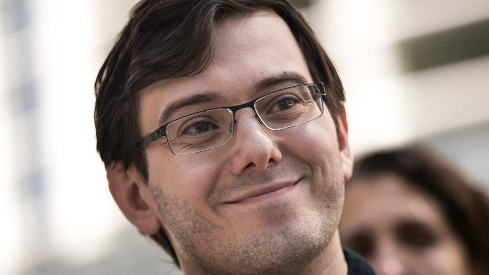 """Shkreli, 38, paid $2 million for Wu-Tang Clan's only copy of """"Shaolin"""" at an auction by the hip-hop group"""
