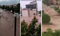 Two killed after cloudburst triggers urban flooding in Islamabad