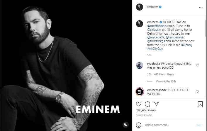 Eminem to host Detroit Day