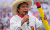 Poor village school teacher Pedro Castillo becomes Peru's president