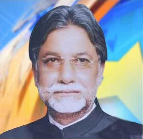 پی ٹی آئی امیدوار سردار میر اکبر۔