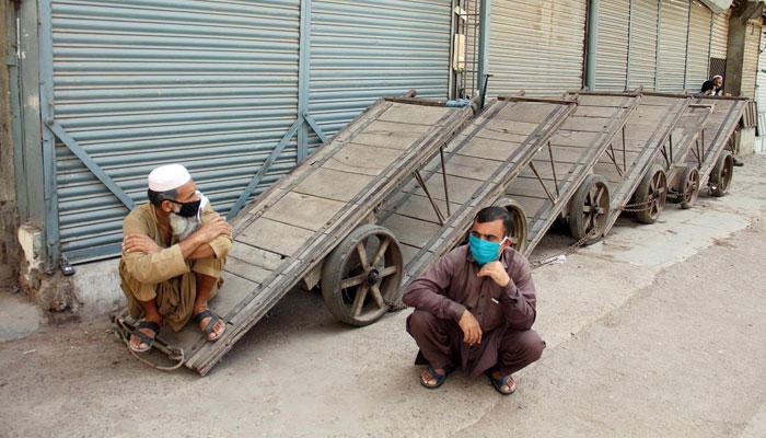 Lockdown in Karachi. File photo
