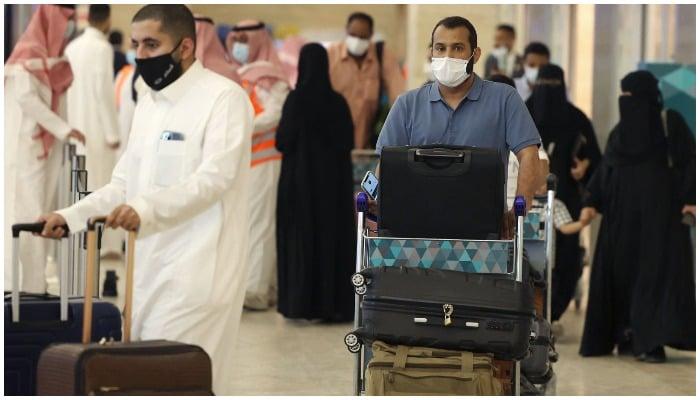 Saudi Arab allows vaccinated tourists to visit the kingdom. Photo AFP