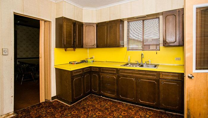 Kurt Cobains kitchen / Photo by Page Six
