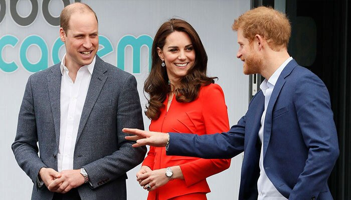Kate Middleton suffers a lot from Prince Harry and Williams rift