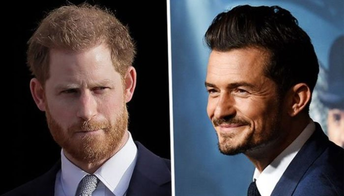Prince Harry earlier explained how he and Orlando Bloom, who is also his neighbour, keep in touch