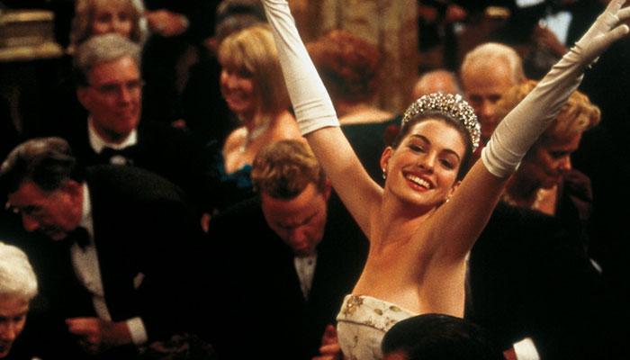 Anne Hathaway takes a trip down memory lane as 'Princess Diaries' marks 20 years