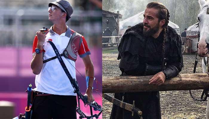 'Ertugrul' star Engin Altan Duzyatan felicitates Mete Gazoz