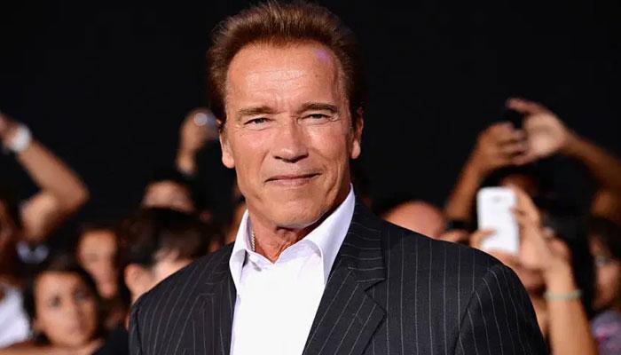 Arnold Schwarzenegger flexes dumbbell skills for 74th birthday