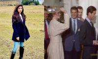 Sajal Aly shares a hilarious throwback video of Prince Charles, Diana
