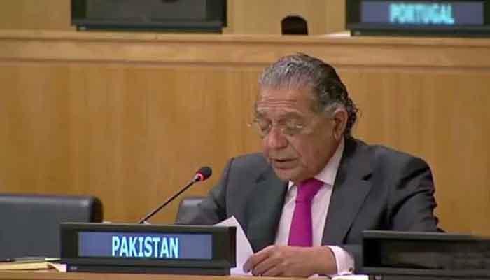 Pakistan's Ambassador to the UN Munir Akram. File photo