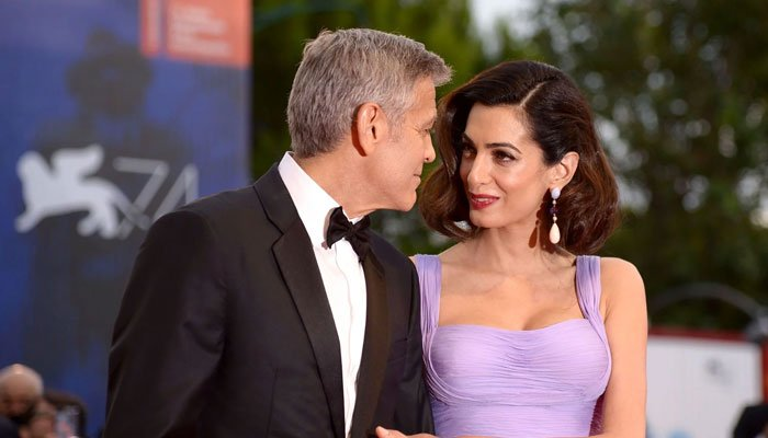 George and Amal Clooney set the record straight about them expecting twins