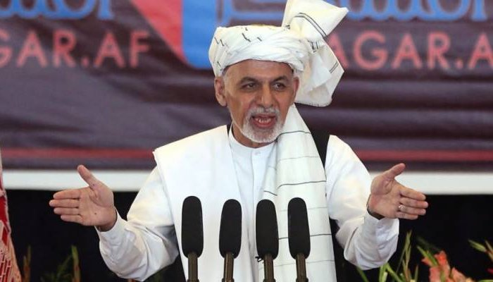 President of Afghanistan Ashraf Ghani speaking at an event. Photo-file