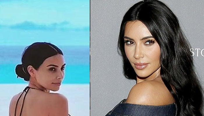 Kim Kardashian displays her true beauty in beach photoshoot