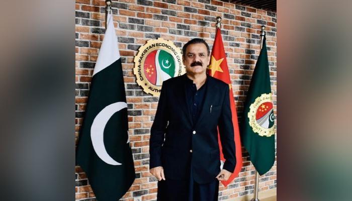 Lieutenant General (retired) Asim Saleem Bajwa. — Twitter/File