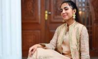 Ushna Shah diagnosed with coronavirus, urges fans to get vaccinated