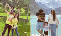 In Pictures: Aiman Khan, Muneeb Butt take time off in Hunza Valley