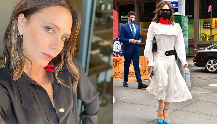Victoria Beckham fails to impress David and fans with her new Princess Diana-inspired dress