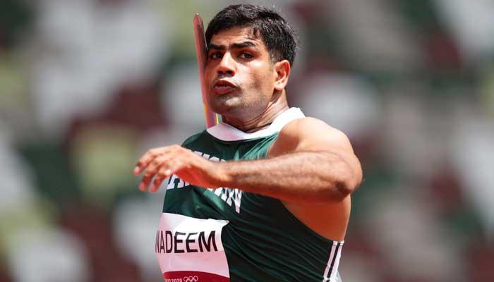 Pakistan's athletic Arshad Nadeem