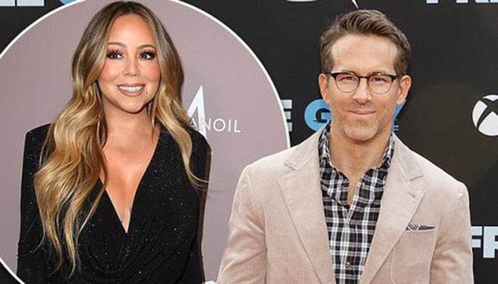 Ryan Reynolds admits to being huge Mariah Carey fan