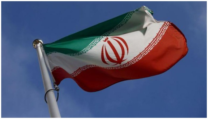 Picture showing the flag of the Islamic Republic of Iran. Photo: File.