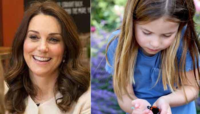 Princess Charlotte photographed by Kate Middleton at Norfolk for Instagram post