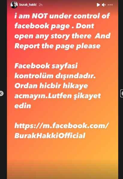 Facebook account of Ertugruls Sultan Alaaddin hacked
