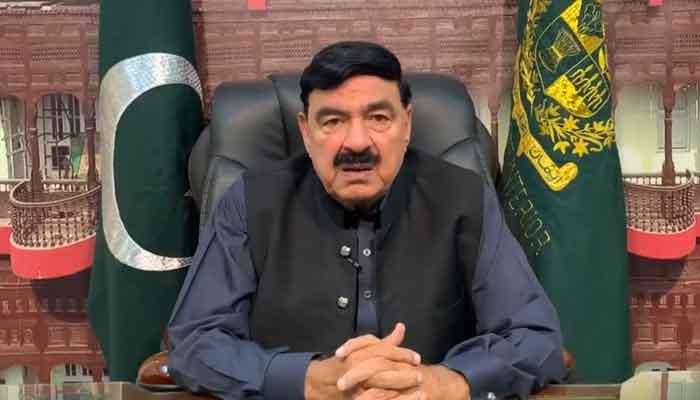 Federal Minister for Interior Sheikh Rasheed