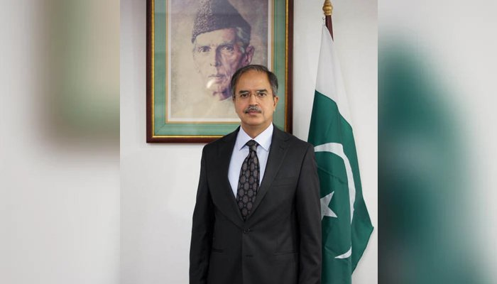 The newly appointed spokesperson of the Ministry of Foreign Affairs Ambassador Asim Iftikhar Ahmad. — Foreign Office