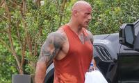 Dwayne Johnson amazes fans as he shows off his incredible physique